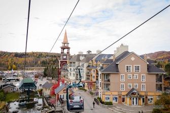 photo of a gondola ride