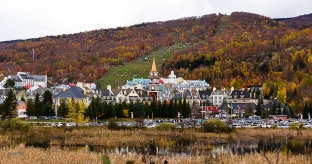 photo of the Mont Tremblant village