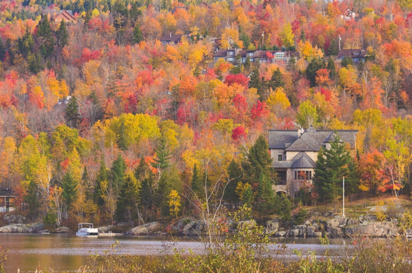 Fall colors in Tremblant