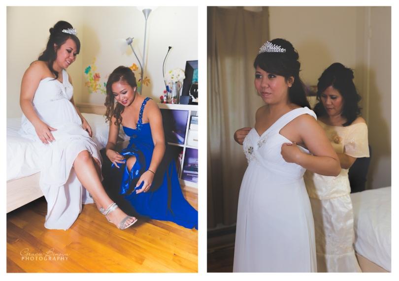 Bride's mom & MOH