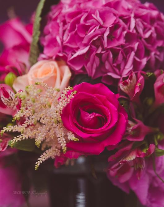 floral pieces